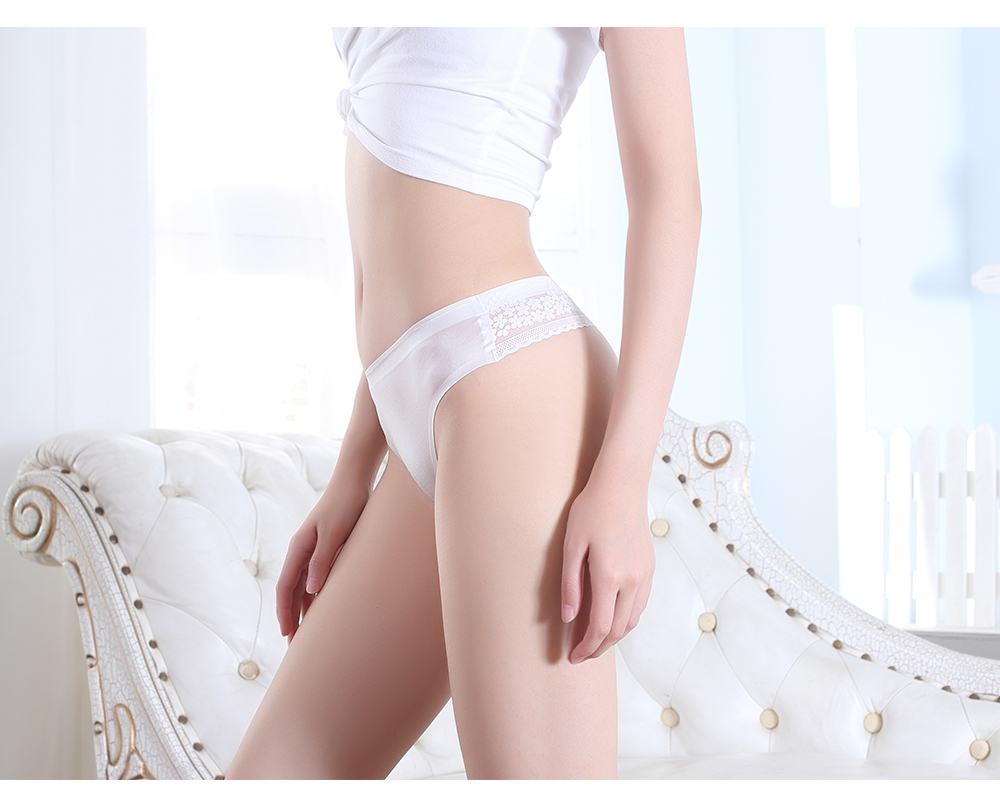 Sexy Underwear For Woman Female Lace Thong Woman Panty Low Rise Sexy Seamless Panties Woman G-string High Quality 2 Pcs - underwear
