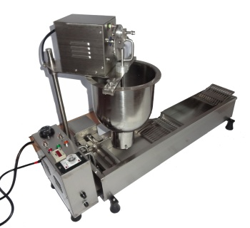 цена на 2020 Industrial single row donut machine donut maker donut making machine with fryer in USA