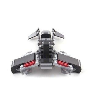 95 шт. строительные блоки для теней, совместимые с Lepining Star wars 75079, игрушки для детей, рождественский подарок, DIY модель