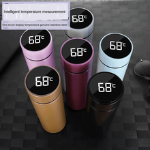 Intelligent Stainless Steel Thermos Bottle Cup Temperature Display Vacuum Flasks Travel Car Soup Coffee Mug Thermos Water Bottle
