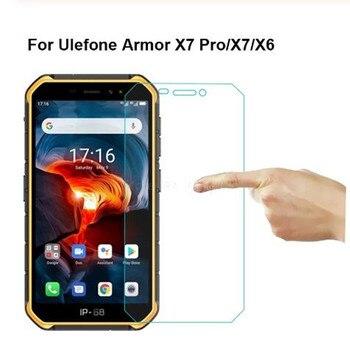 Перейти на Алиэкспресс и купить Закаленное стекло для Ulefone Armor X6 Взрывозащищенная защита для экрана для Ulefone Armor X X2 X3 X5 X7 Pro стеклянная крышка для телефона