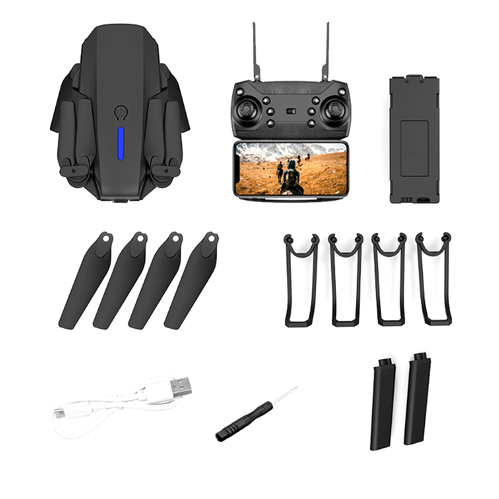Included in the purchase of your 4K HD drone