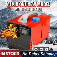 8KW 12V 24V Car Air Diesels Heater With Remote Control LCD Monitor for Car RV Motorhome Trucks Trailer Boat Heater