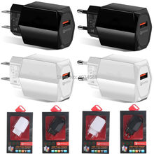 18W Cepat Pengisian Cepat Dinding Charger Uni Eropa US Plug Power Adaptor untuk Iphone 7 7 Plus Samsung Tablet Pc mp3(China)