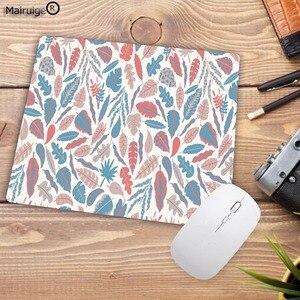 Image 4 - Mairuige tapis de souris pour Gamer, motif Tropical, feuilles et fleurs, pour clavier de bureau, tablette, pour ordinateur, jeu Lol, Csgo