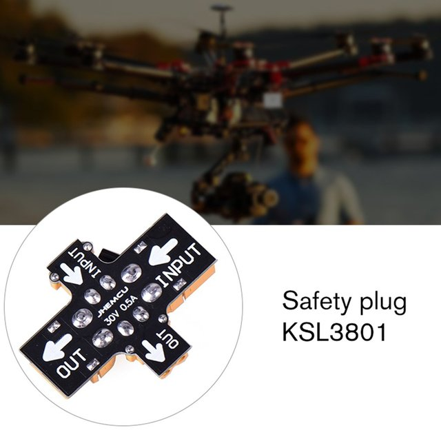 XT30 XT60 Fuse Short Circuit Protection Smoke Proof Smoke Stopper Parts For RC FPV Aircraft Drone Accessories