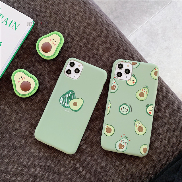 Avocado Soft Case for iPhone SE (2020) 6