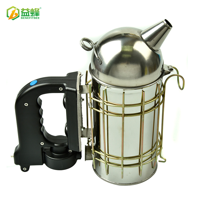 Yi Feng Beekeeping Tools Cowhide Electric Fogging Machine Open Country Catch Bee Drive Bees For Aerosol Spraying Kettle Wholesal