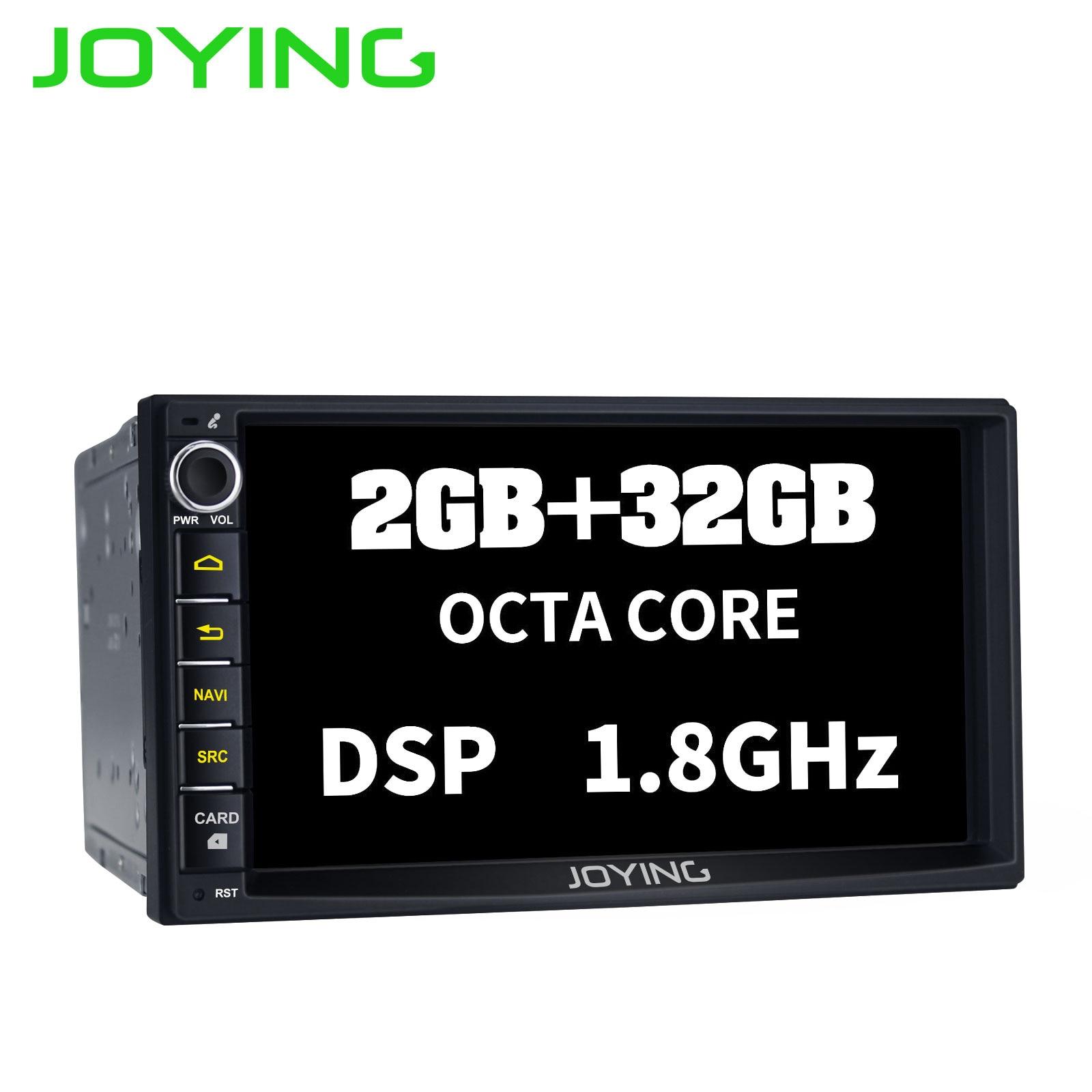JOYING 7 2GB 32GB Octa 8 Core Android 8 1 head unit 2 din car radio