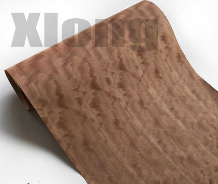 1Piece  L:2.5meters Width:55cm Technology Natural Splicing McGee Block Shadow Wood Veneer (back Non Woven Fabric)