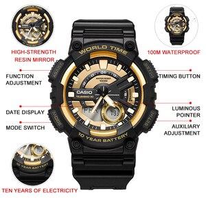 Image 2 - Casio watch Bán chạy nhất đồng hồ nổ nam thiết lập thương hiệu hàng đầu sang trọng quân đội đồng hồ kỹ thuật số relogio thể thao 100m không thấm nước thạch anh đồng hồ relogio masculino reloj hombre erkek kol saati