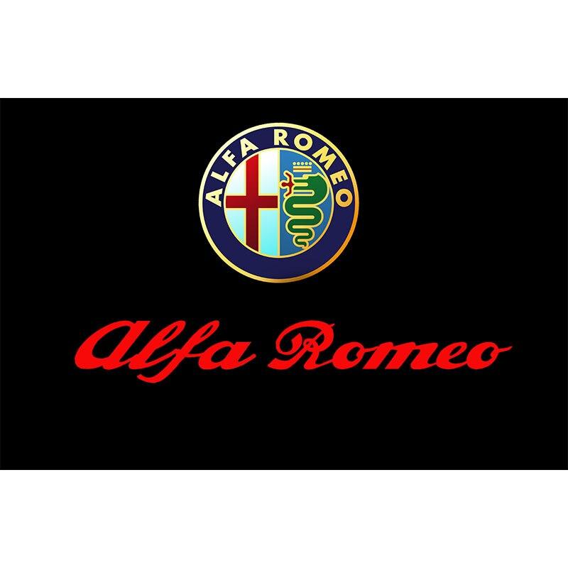 3//5ft Black ALFA ROMEO NEW DESIGN polyester FLAG 90//150cm