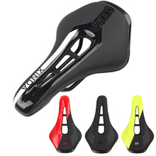 PU Road Bike Saddle Breathable Soft Hollow Seat Breathable Bicycle MTB Saddle Cushion Bicycle Seat Accessories 27.5* 13.5cm D30 jad spo 108 bicycle breathable pu shoes silver size 42