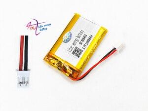 Image 2 - JST PH 2.0mm 2pin 3.7V Lithium Polymer 1800mAh LiPo Pin Sạc với cổng kết nối Cho MP3 DVD MIẾNG LÓT camera GPS Laptop 803450
