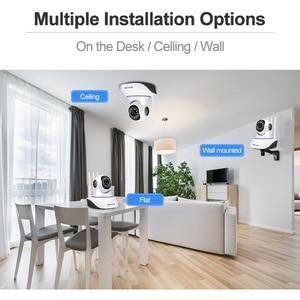 Image 5 - Techage 1080P Wireless IP Camera Baby Monitor Dome Indoor 2 Way Audio Video CCTV Wifi PT Camera Security Surveillance P2P Alert