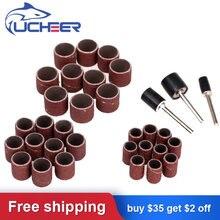 Ucheer 63 шт/компл наждачное кольцо Шлифовальная головка для
