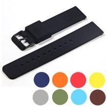 14mm 16mm 18mm 20mm 22mm pulseira de banda de silicone liberação rápida pulseira para samsung active 2 huami huawei relógio inteligente