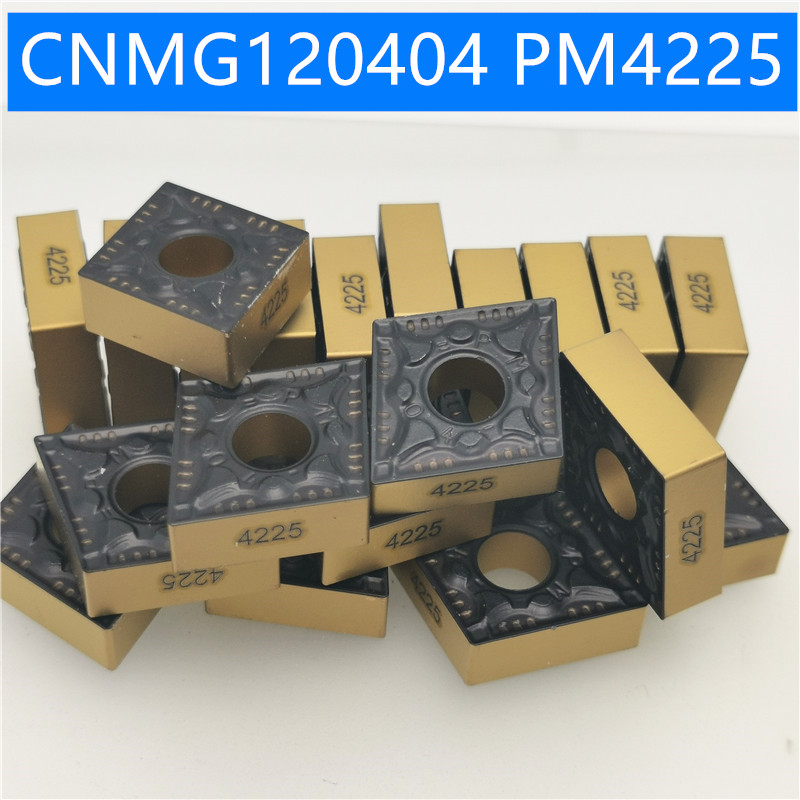 CNMG120404  CNMG120408  PM 4225 PM4225 External Turning Tools Cermet Grade Carbide Insert Lathe Cutter Tool Turning Insert
