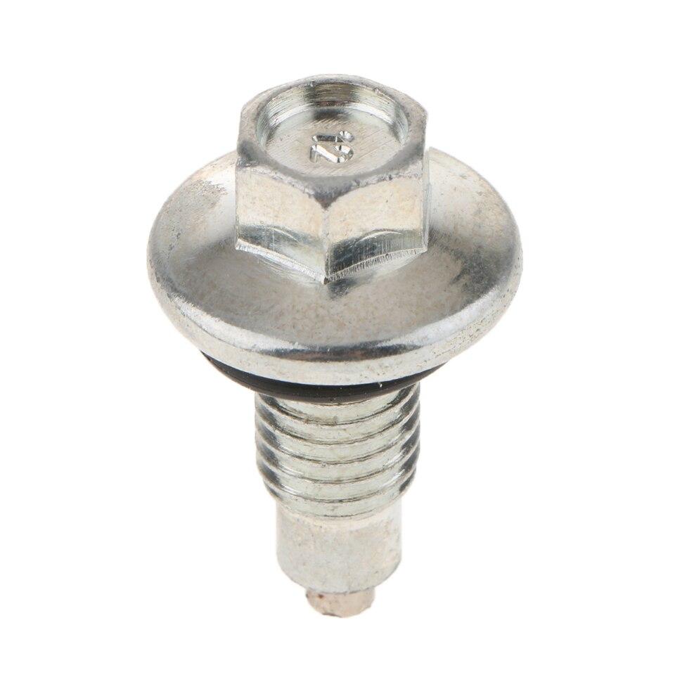Blue M12 x 1.5mm Magnetic Sump Drain Plug Oil Screw Car Automotive Universal
