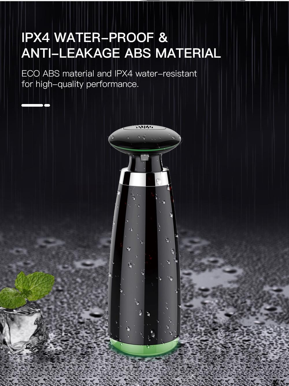 H170e112119664c559495404f4c879043E SVAVO 350ml Automatic Soap Dispenser Infrared Touchless Motion Bathroom Dispenser Smart Sensor Liquid Soap Dispenser for Kitchen