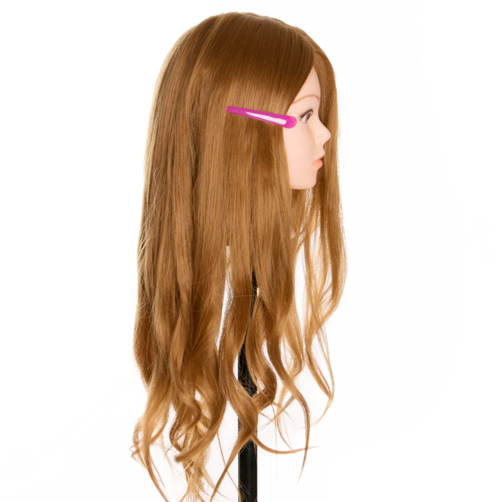 Head Dolls Head For Hairdressers Hair Synthetic Mannequin Head Hairstyles Female Mannequin Hairdressing Styling Training Head