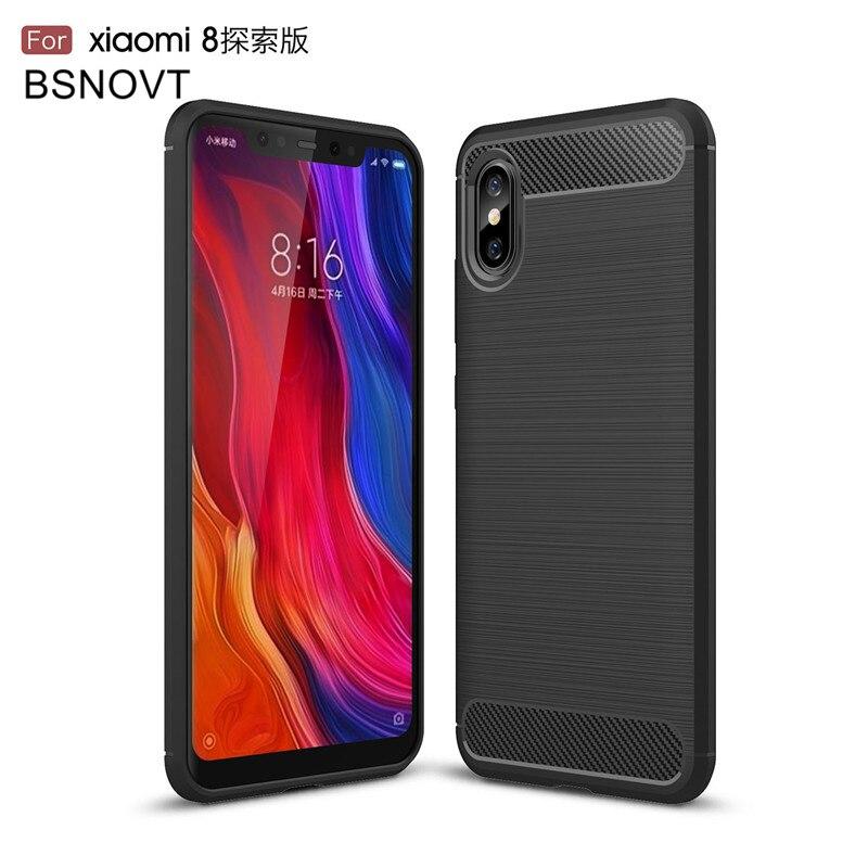 For Xiaomi Mi 8 Explorer Edition Case Soft Anti-knock Case For Xiaomi Mi 8 Explorer Edition Cover For Xiaomi Mi 8 Explorer Funda