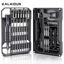 KALAIDUN Precision Screwdriver Set Magnetic Ratchet Screw Driver 73 In 1 Torx Hex Bit Multitools Bits Phone Repair Hand Tool Kit