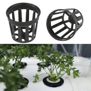 10Pcs Plastic Aquatic Pots Basket For Aquarium Water Flower Plant Grass Cultivate Pot And Aquarium Fish Tank Aquatic Decoration