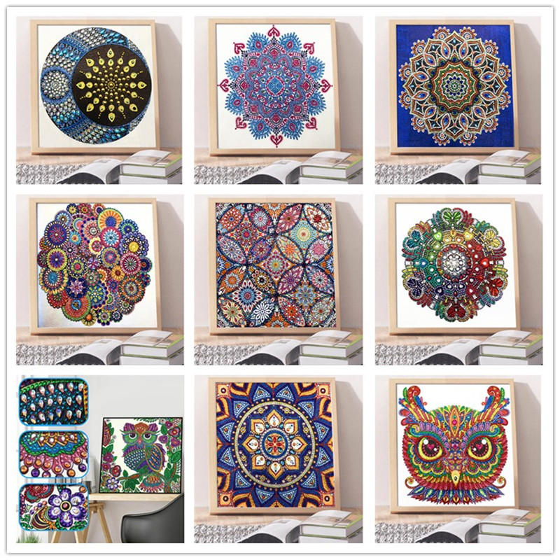 5D DIY Diamond Painting Special Diamond Embroidered Cross Stitch Crystal Diamond Painting Sticker
