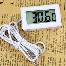 Термометр высокого качества по Цельсию цифровой термометр аквариумный холодильник автомобильный процессор тепловой диффузор датчик температуры