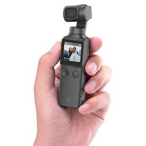 Image 5 - FIMI PALM cep kamera 3 Axis el eylem Gimbal kamera sabitleyici 4K HD taşınabilir Gimbal kamera Vlog akıllı telefon