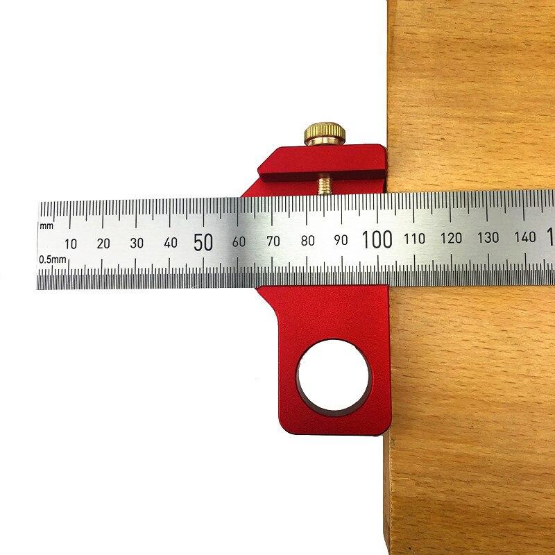 295.87руб. 30% СКИДКА|Столярная DIY деревообрабатывающая угловая стальная линейка позиционирование блок линия Scriber Калибр алюминиевый сплав для измерительных инструментов|Шаблоны| |  - AliExpress