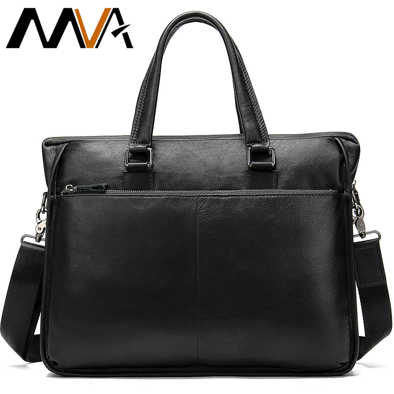 Men Briefcase Bag Genuine Leather Laptop Bags Men Briefcase Man Business Bag Office Handbag 13.3''Laptop Bolsos Para Hombre  103
