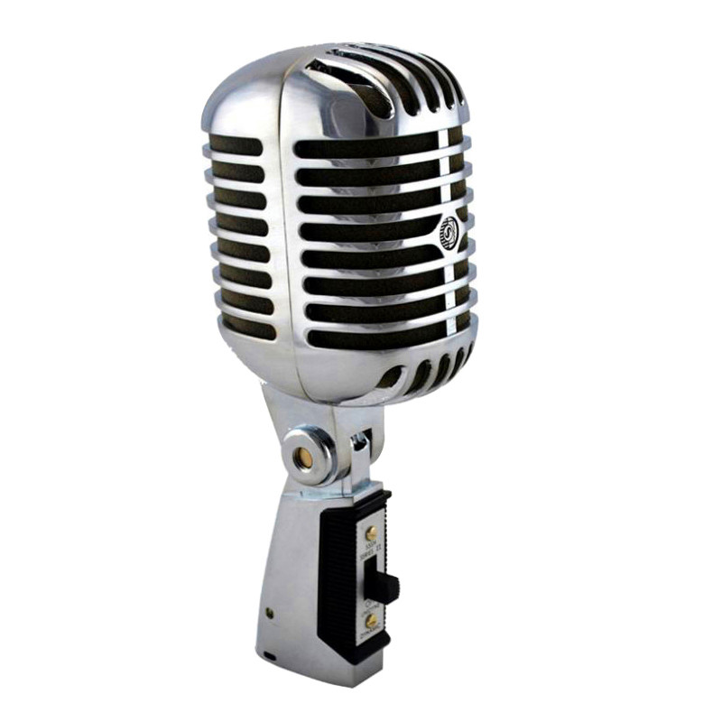 Professional Microphone 55SH Dynamic Karaoke Recording Studio Wired Retro Capsule Mic Vocal Singing For Vintage Home