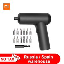 Original Xiaomi Mijia Electric Screwdriver Patent Cordless 2000mAh Rechargeable Battery 5N.M Torque 12PC S2 Bits PH H SL