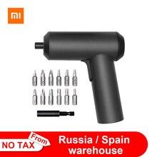Orijinal Xiaomi Mijia elektrikli tornavida Patent akülü 2000mAh şarj edilebilir pil 5N.M tork 12 adet S2 uçları PH H SL