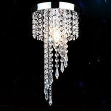 Современный Хромированный Светодиодный светильник-Хрустальная люстра, подвесной потолочный светильник, энергосберегающий светильник lampadari avizeler