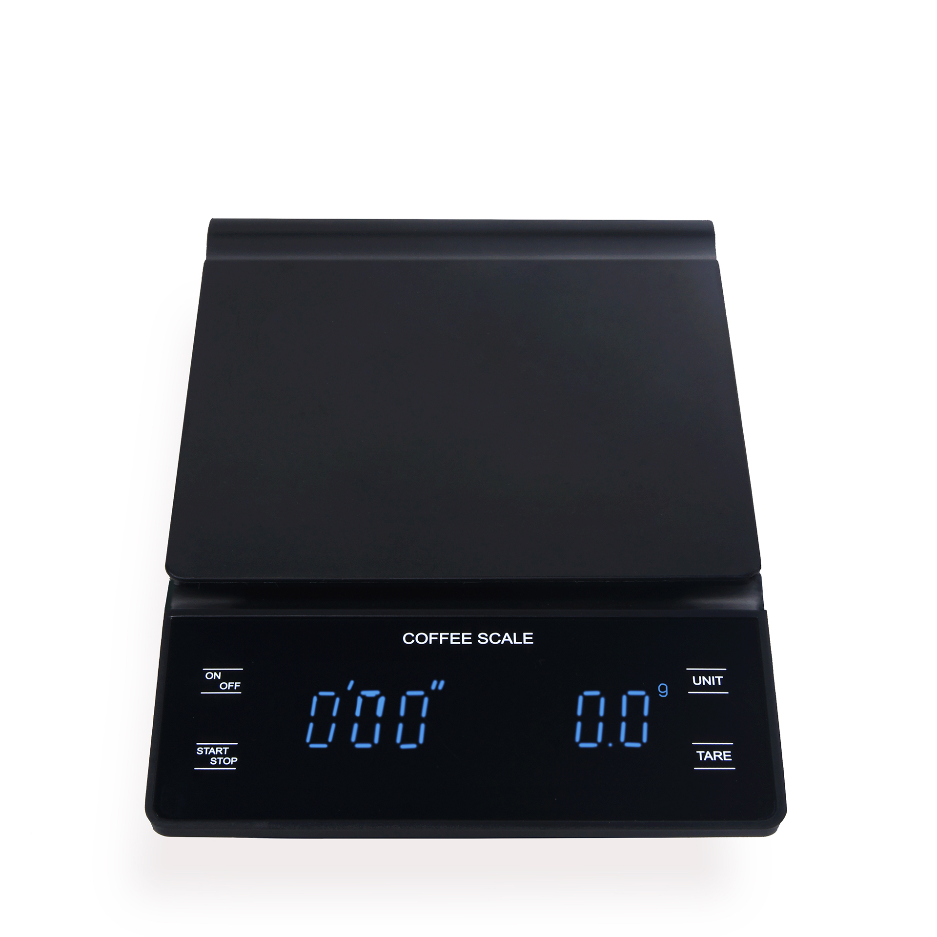 مقياس القهوة الإلكترونية اليد تنوعا بار ميزان إلكتروني غرام مقياس مع الموقت 3 كجم مقياس المطبخ LED عرض ميزان المطبخ