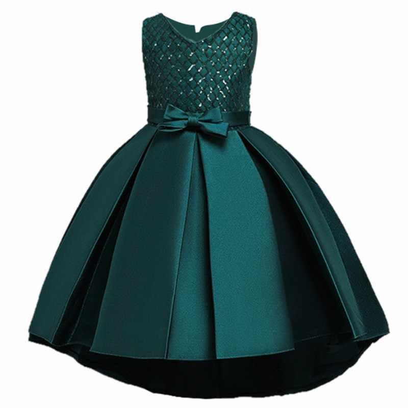 Vestido de fiesta de noche para niños vestidos infantiles para niñas vestido de boda para niñas vestido de princesa 4 5 6 7 8 9 10 11 12 años