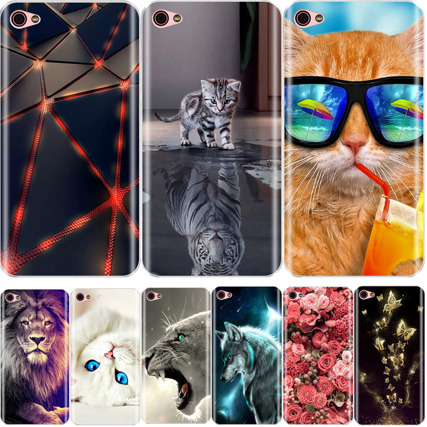 Case For <font><b>Lenovo</b></font> <font><b>S60</b></font> Soft TPU Floral Pattern Protective Back Cover For <font><b>Lenovo</b></font> <font><b>S60</b></font> Silicone Case Cover image
