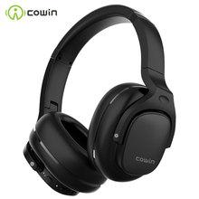 COWIN سماعة رأس لاسلكية E9 مزودة بتقنية البلوتوث وجهاز إلغاء الضوضاء النشط وصوت Aptx عالي الدقة وميكروفون