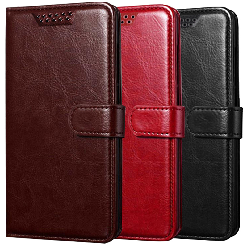 for <font><b>Motorola</b></font> Moto One <font><b>Vision</b></font> Power Macro Action X Style Pure P30 Play Note P40 Power M X4 Phone <font><b>Case</b></font> Wallet Leather Flip Cover image