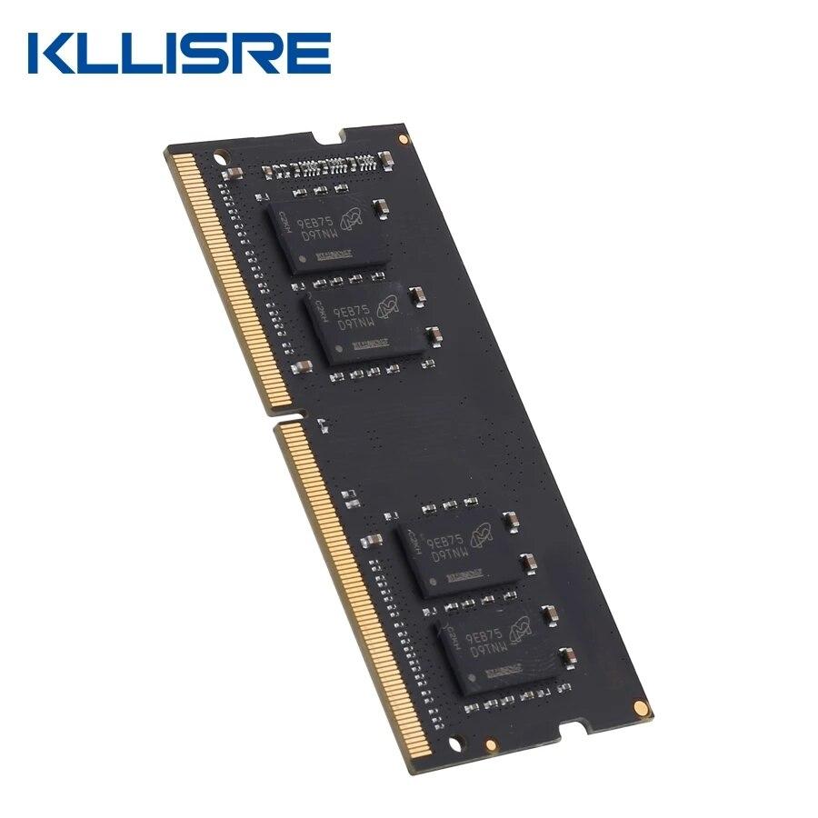 Kllisre DDR3 DDR4 8GB 4GB 16GB laptop memory 1333 1600 2400 2666 2133 DDR3L 204pin Sodimm Notebook RAM 2
