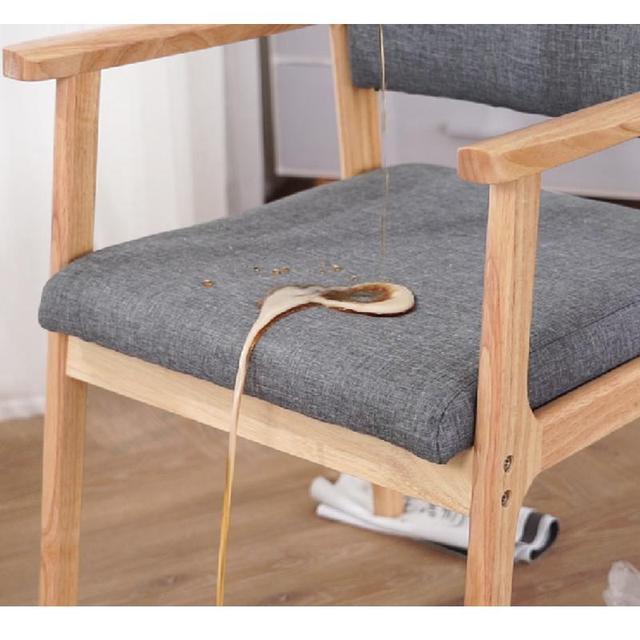 Solid Wood  Modern Minimalist Armrest Chair 4