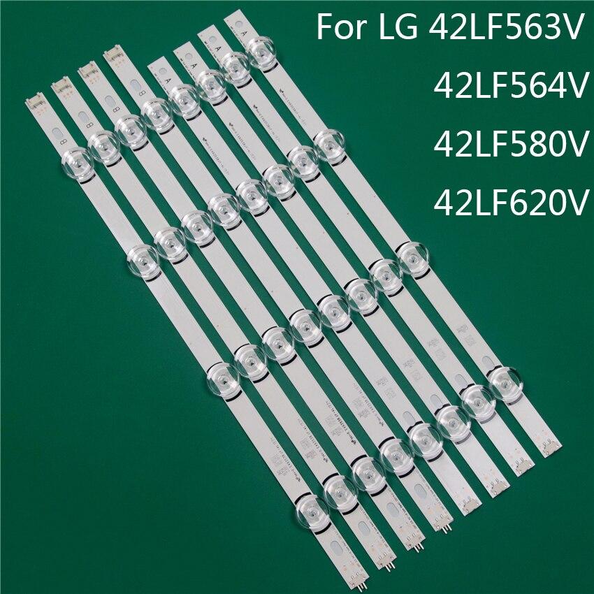 LED TV Illumination Part Replacement For LG 42LF563V 42LF564V 42LF580V 42LF620V LED Bar Backlight Strip Line Ruler DRT3.0 42 A B