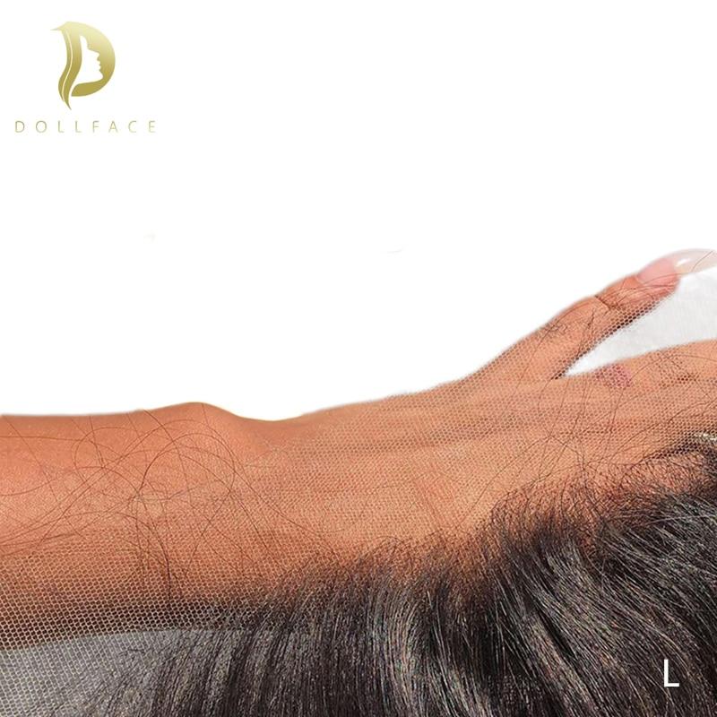 Transparente rendas frontal 13x6 swiss laço onda do corpo brasileiro remy natural extensões de cabelo humano hd fornecedores rendas dollface