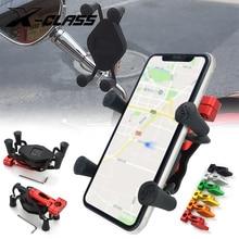 אוניברסלי אופנוע GPS ניווט בעל טלפון סוגר Stand הר CNC אלומיניום עבור וספה קוואסאקי BMW דוקאטי הונדה ימאהה