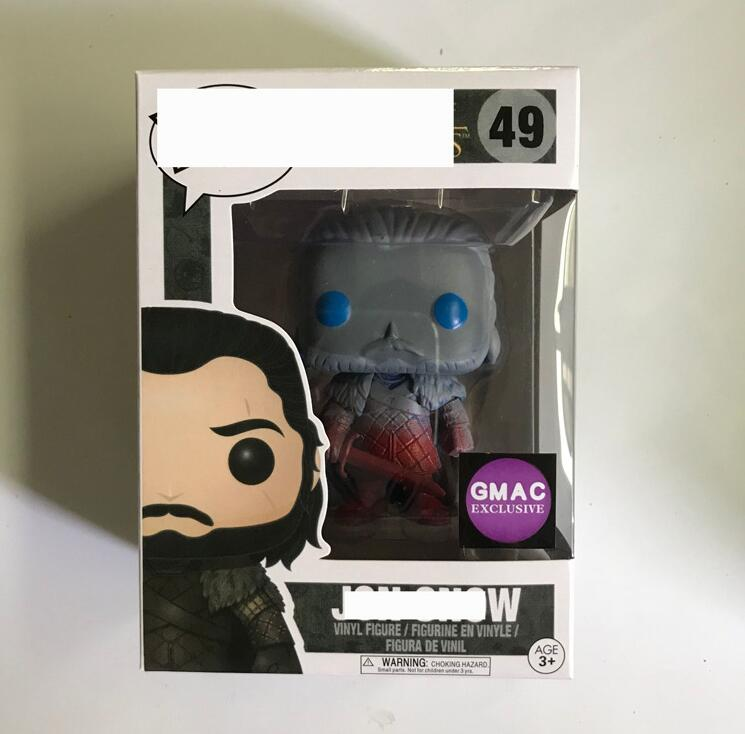 Funko POP Song Of Ice And Fire Game Of Thrones Collectible Jon Snow Model Toys Boy PVC Action Figure Kids Toys image