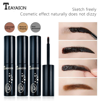 TEAYASON Eyebrow Dye 3 Color Eyebrow Pencil Long Lasting Waterproof Eyebrow Professional Makeup Eyebrow Gel Tattoo Cosmet Beauty