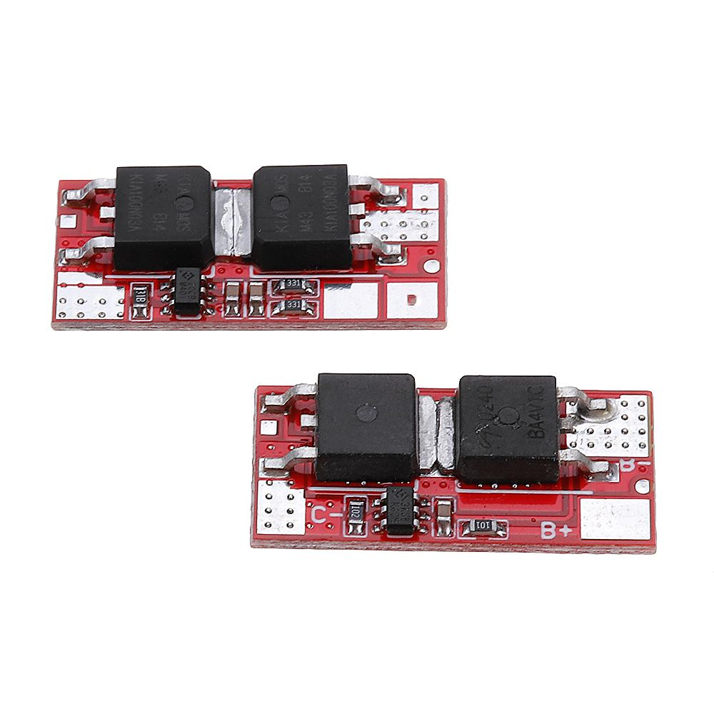 10A 1S 4.2V 2S 8.4V Lithium Battery Protection Board PCB PCM BMS Charger Charging Module 18650 Li-ion Lipo 18650 image
